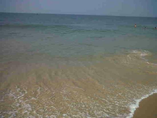 Candolim Beach : Sea waves at Candolim