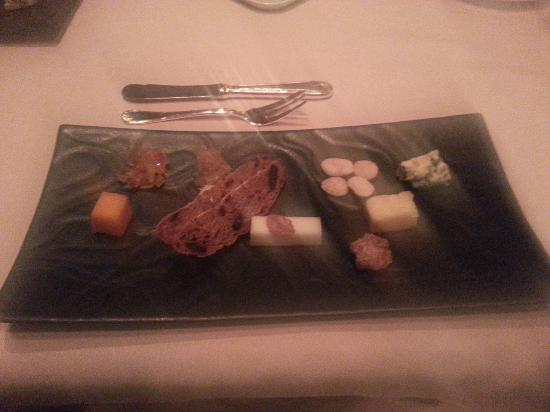 Victoria & Albert's: Selection of Cheeses