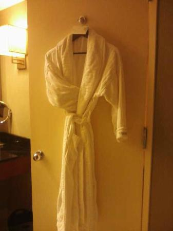 The Westin O'Hare: Robe Provided