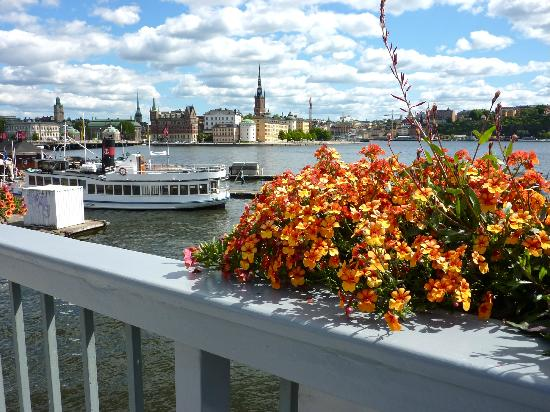 Stockholm City Hall: View of Gamla Stan from the bridge to City Hall