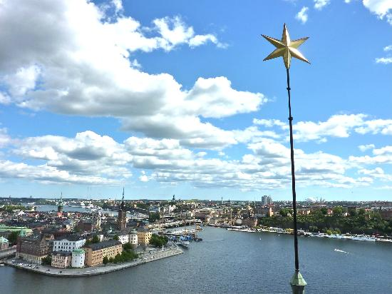 Stockholm Belediye Binası: View of Stockholm from the top of the tower
