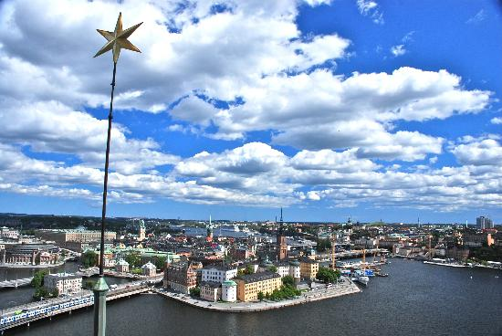 Stadshuset: View of Gamla Stan from the tower