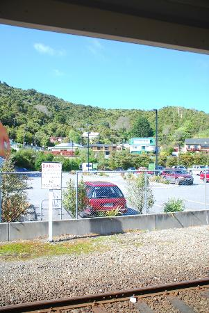 Sundowner Motel: View from the station platform