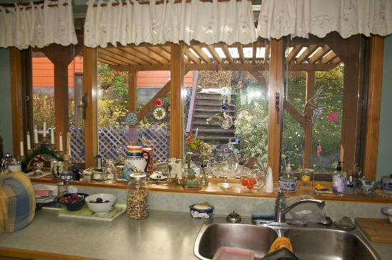 Casa del Soul: from from inside the kitchen