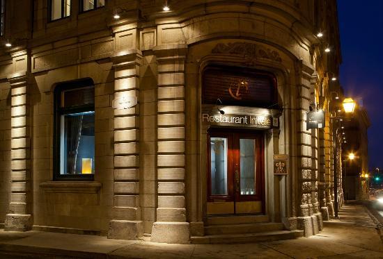 Restaurant Initiale, rue St-Pierre, Québec