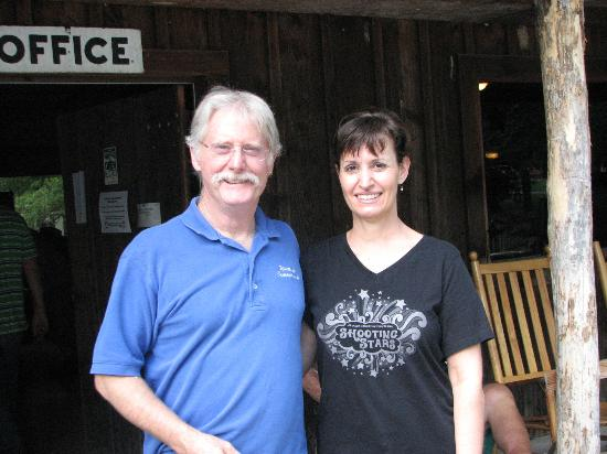 Flintlock Family Campground : Aiming to Please, Sam and Cynthia
