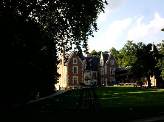 Le Clos Lucé : Vista do chateau Clos Lucé