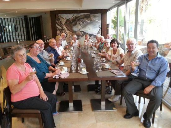 Hotel Son Matias Beach: Having a V.I.P. Lunch with management very friendly and down to earth!!