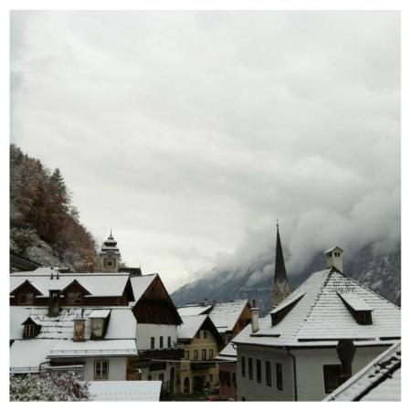 Gasthof Weisses Lamm: view from our room