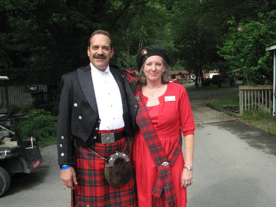 Flintlock Family Campground: Highland Games Participants