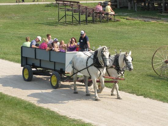 Steinbach, Канада: Wagon Ride