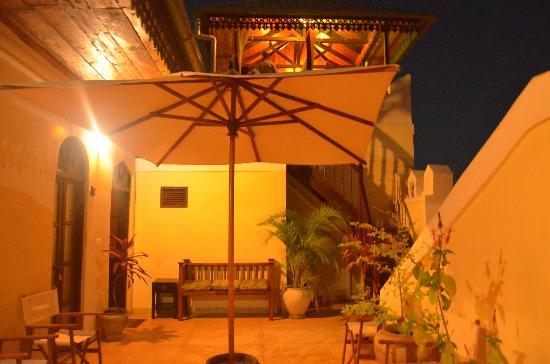 Kholle House: the veranda