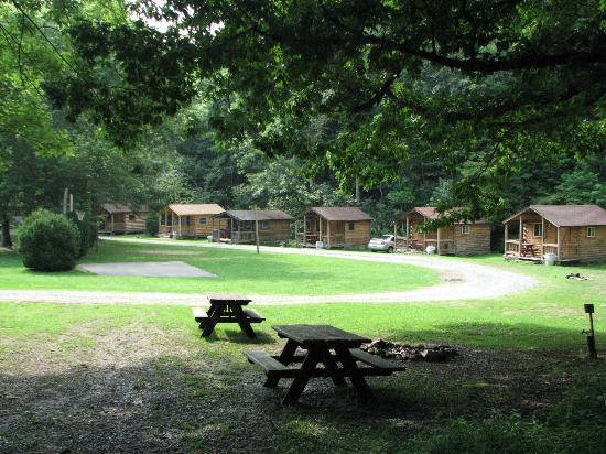 Flintlock Family Campground: Cabins available to rent