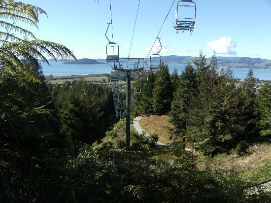Skyline Rotorua Chair Lift