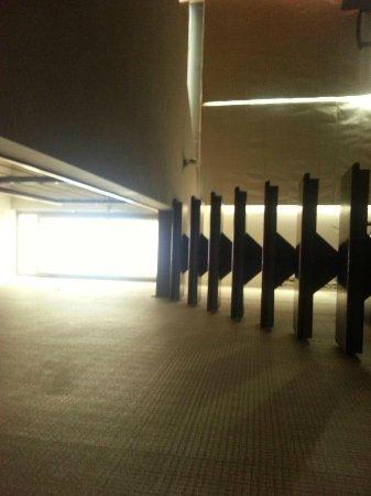 Plaza Suites Apartments: Escaleras