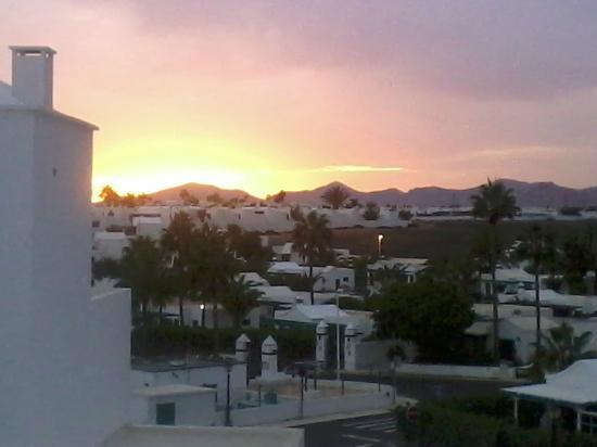 Hotel Lanzarote Village: View from Hotel
