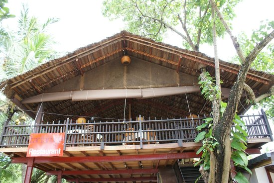 Tartaruga Hotel & Beach Restaurant: neugebautes Restaurant
