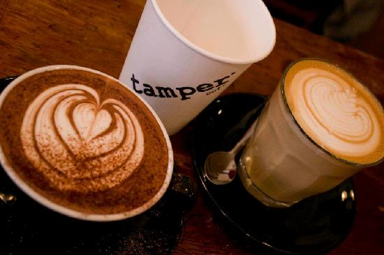 Tamper Coffee - Westfield Terrace: tamper coffee