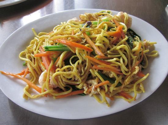 Father's Restaurant: Fried Noodle Shrimp - $2.50
