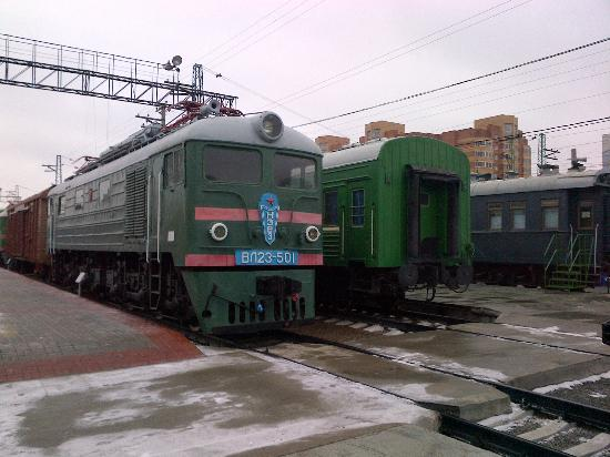 West Siberian Railway History Museum: More locomotives