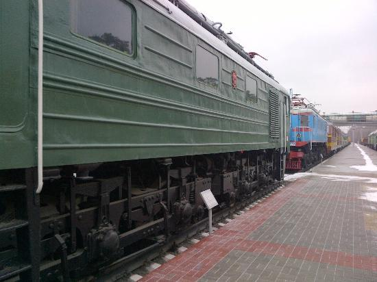 West Siberian Railway History Museum: Items on display