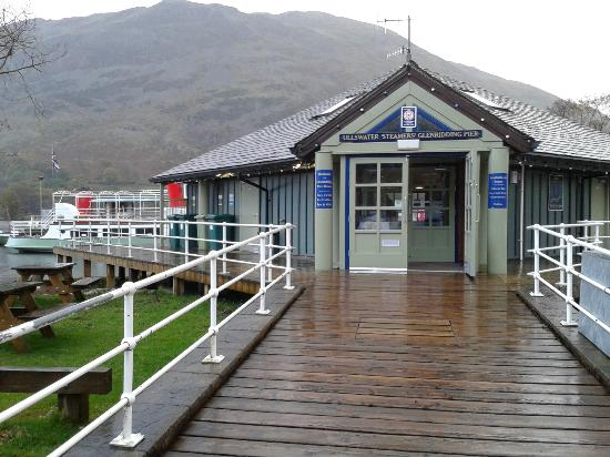 ‪‪Ullswater Steamers‬: Glenridding Pier House
