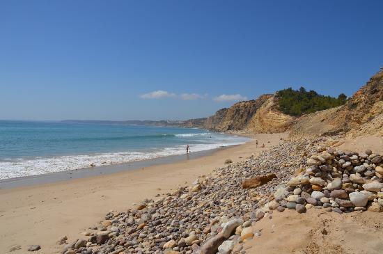 Algarve Ocean: Albuferia beach, Albuferia, Portugal