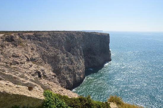 Algarve Ocean: Sagres coast line, Algarve, Portugal