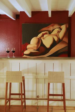 Hotel Plein Soleil: Le bar