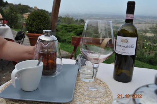 Ristorante Boccon DiVino: wine is over.tea time!