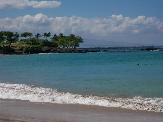 Mauna Kea Beach view of the south end