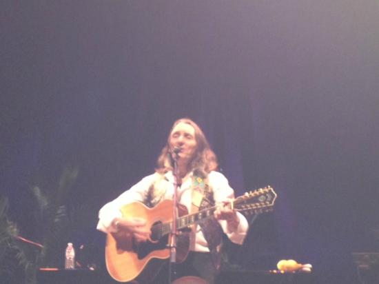 Gallo Center for the Arts: Roger Hodgson singing at the Gallo