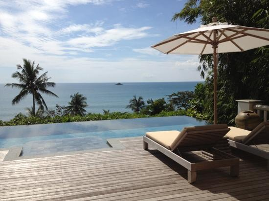 Trisara Phuket: from villa 203 Nov 2012