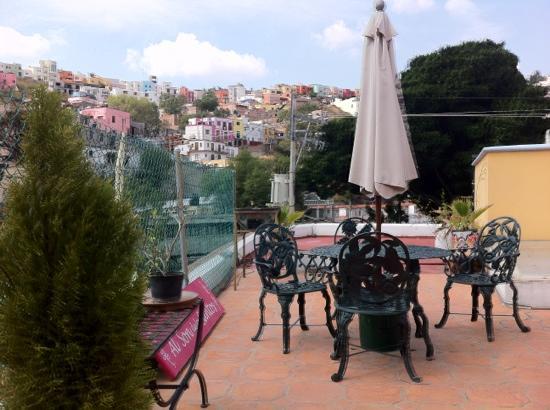 أل سون دي لوس سانتوس - هوستل: La terraza 