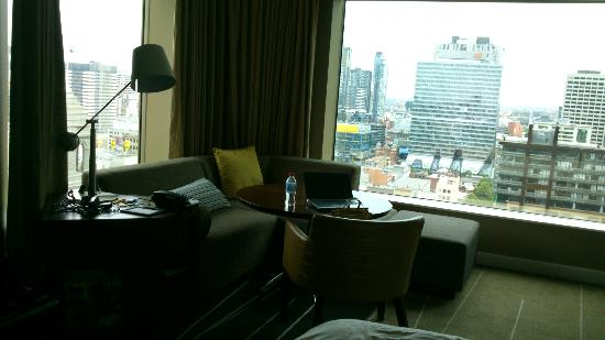 Grand Hyatt Melbourne: Schöner Ausblick vom Eckzimmer