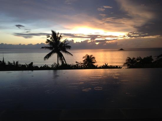 Trisara Phuket: still breathtaking with a little bit of rain on a sunset !