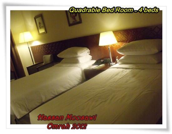 Makarem Umm Alqura Hotel : Quadrable Bedroom