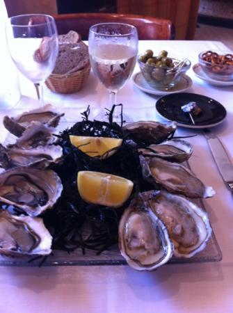 Comptoir A Huitres : assiette d'huîtres