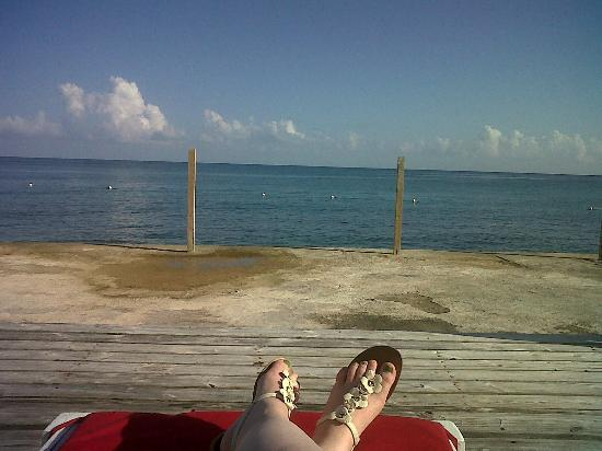 Royal Decameron Club Caribbean: view from jetty bar