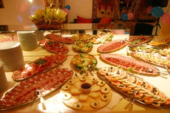 Hotel Apogeo: Cena e Buffet di lavoro