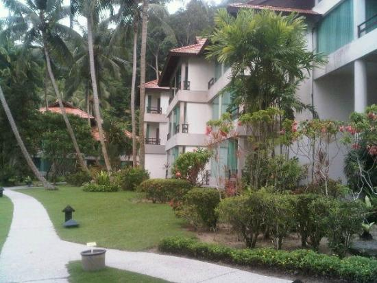 Pangkor Island Beach Resort: The rooms view from outside