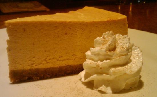 Boskos Trattoria : Pumpkin Cheesecake
