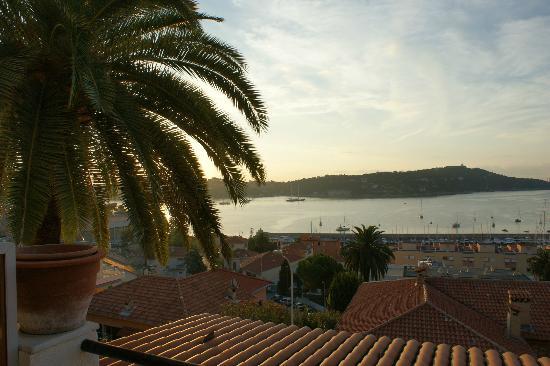 Hotel La FLore: vue de la terrasse de notre chambre