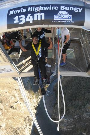 AJ Hackett Bungy New Zealand: Step 2
