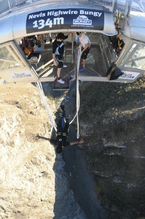 AJ Hackett Bungy New Zealand: Step 3