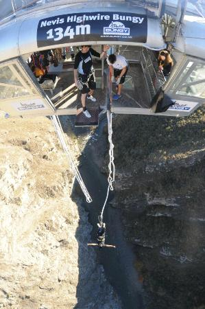 AJ Hackett Bungy New Zealand: Step 5