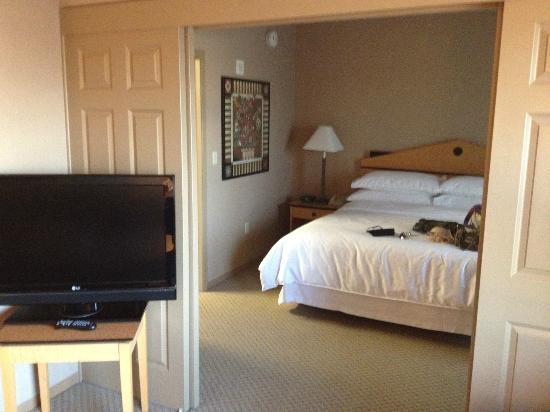 休斯頓商業街喜來登套房酒店照片
