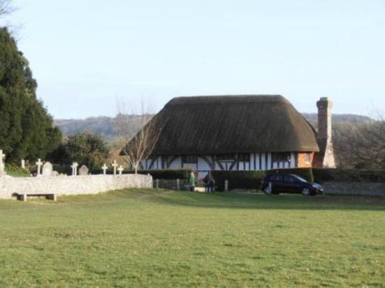 Alfriston Clergy House: View from The Tye