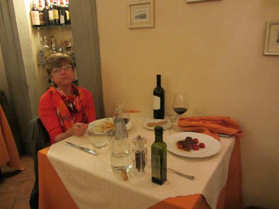 Dining at Dolce Maria