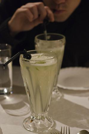 Kerala Cafe: Naranga Vellum - ginger & lime soft drink